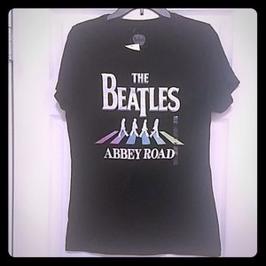 The Beatles Band graphic t shirt NWT